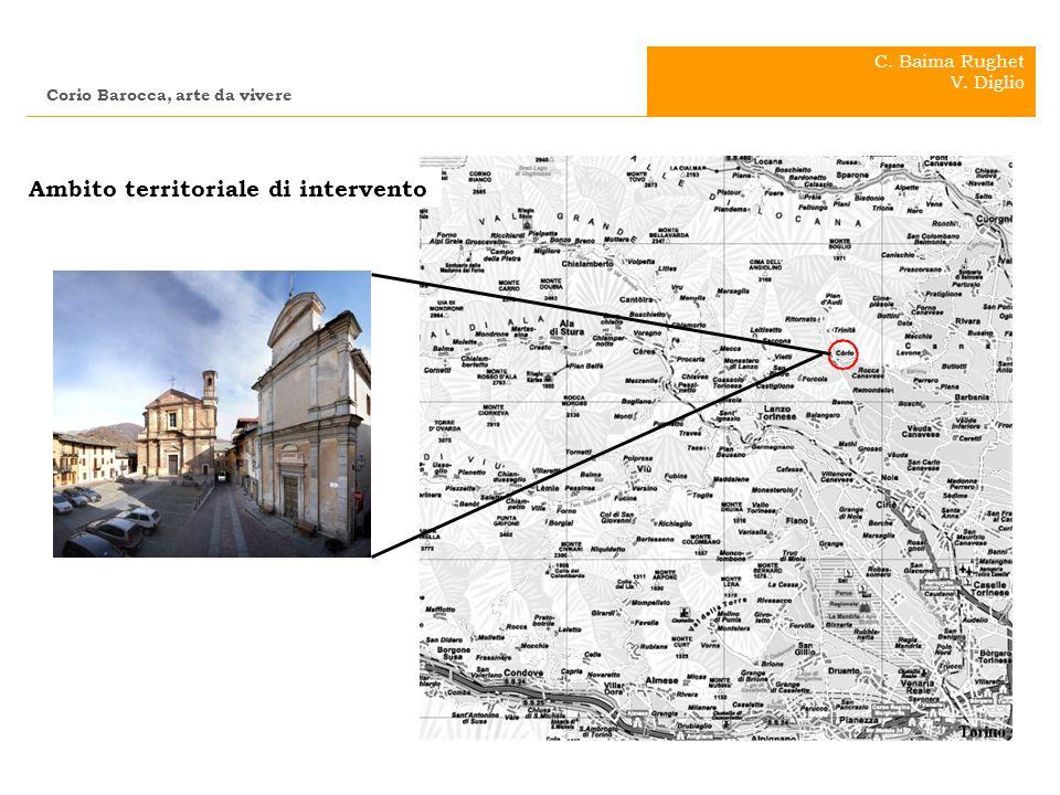 .. Ambito territoriale di intervento Corio Barocca, arte da vivere C. Baima Rughet V. Diglio