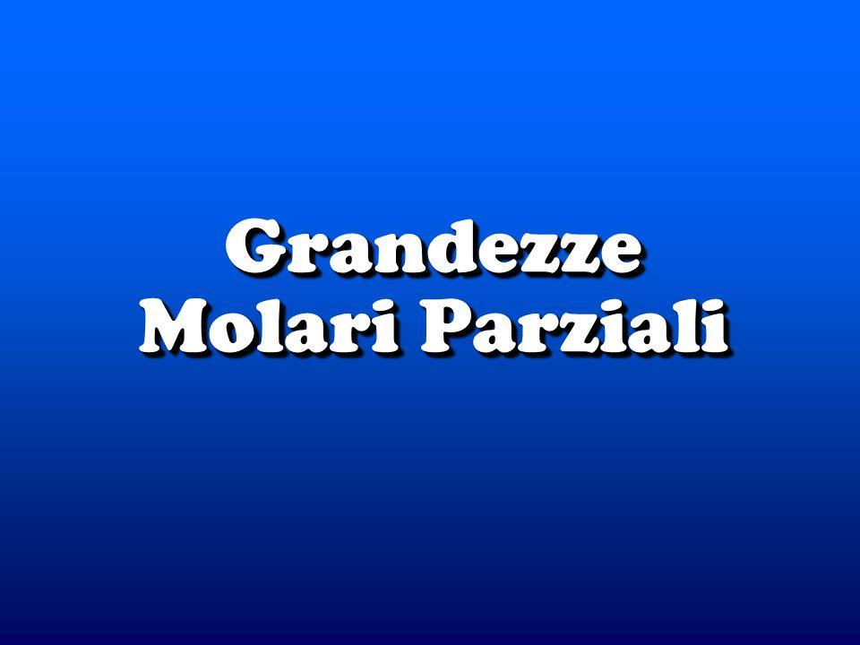 Grandezze Molari Parziali