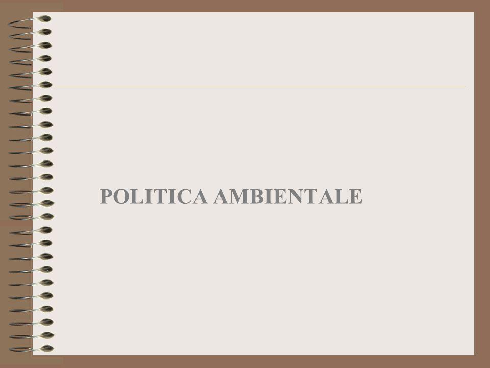 POLITICA AMBIENTALE