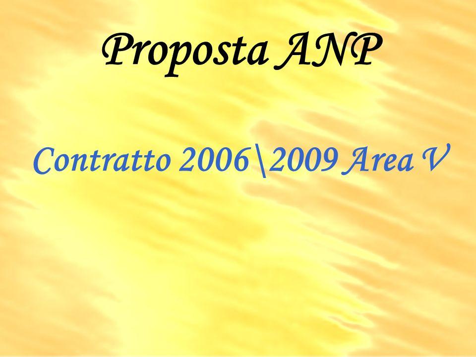 Proposta ANP Contratto 2006\2009 Area V