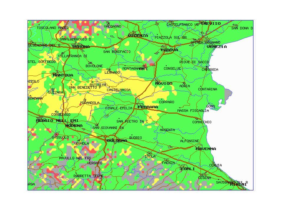GENERICA RETE NAZIONALE (N=3) BANDA IV Campo minimo 65/59 SERVIZIO: Territorio - 85% Q4-Q5 - 80% Q3 - 5% Q3 - 3% Popolazione - 96% Q4-Q5 - 93% Terr.