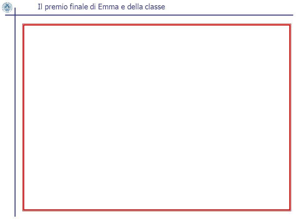 Il premio finale di Emma e della classe