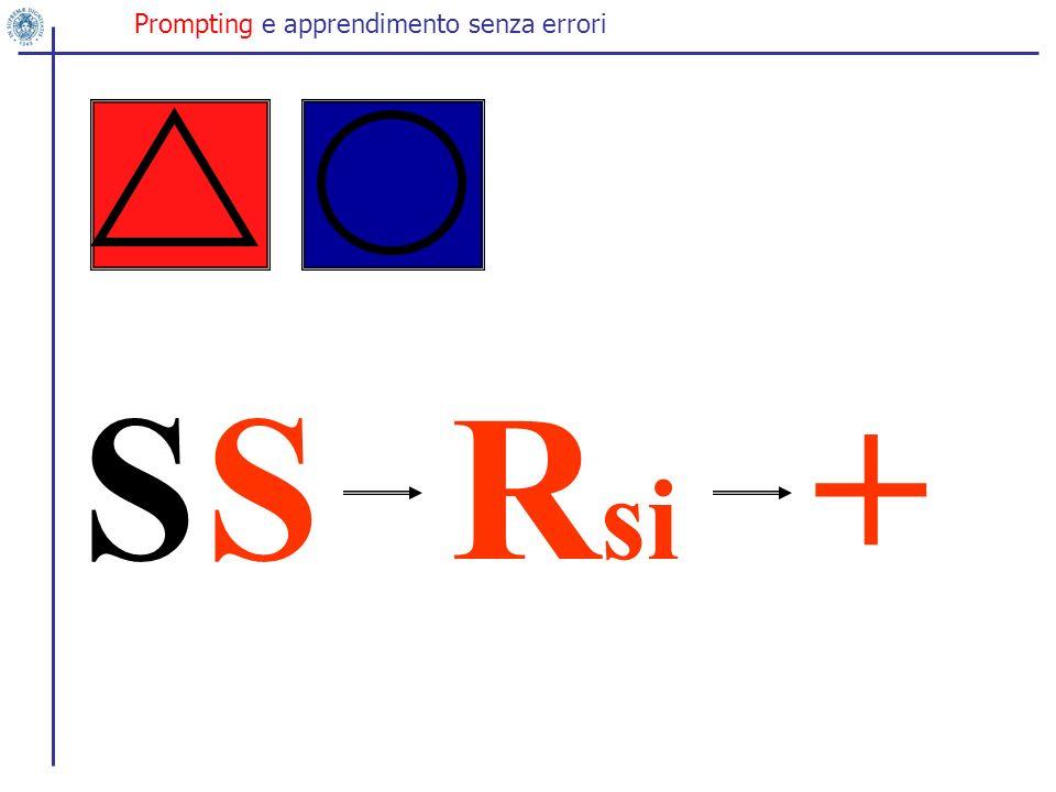 SR si S+ Prompting e apprendimento senza errori