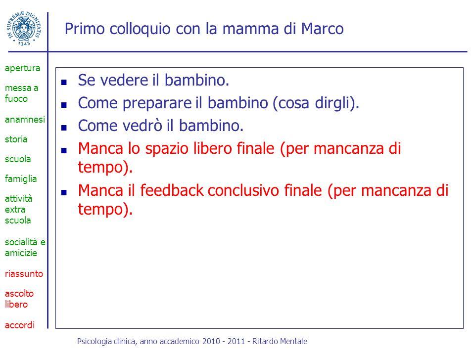 Primo approccio con Marco Piccolo, minuto.Veloci scatti nervosi.