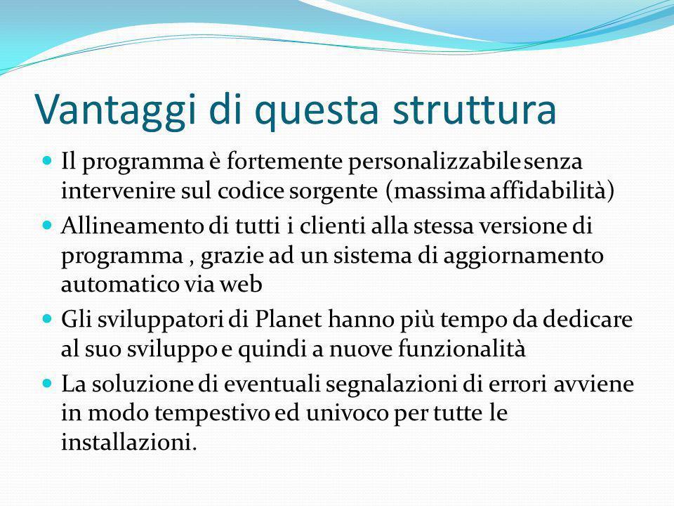Planet è dotato di un modulo di contabilità in grado di sopperire alle esigenze fiscali di una piccola o media azienda.