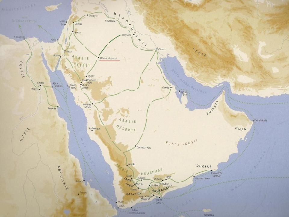 Dumat al-Jandal Asfan Wadi al-Sirhan wadi flow Azraq al-Qurayyat the pre-history of wadi al-Sirhan