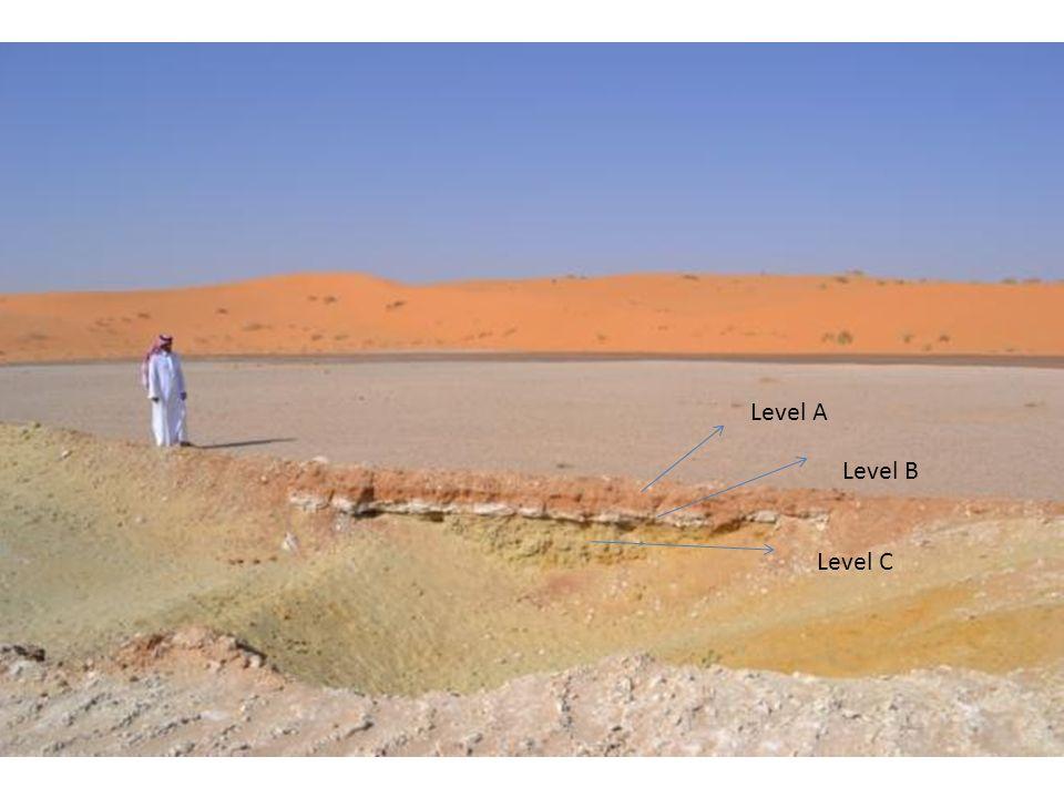 Modern wadi flow Dumat al-Jandal Asfan