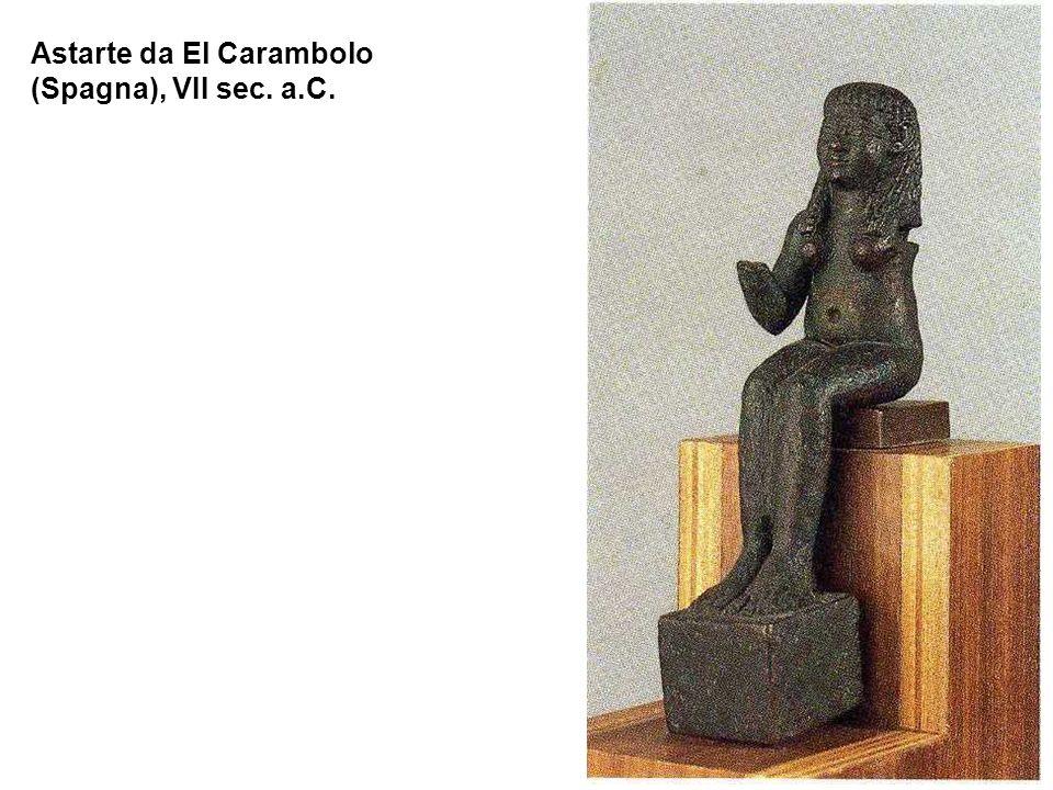 Astarte da El Carambolo (Spagna), VII sec. a.C.