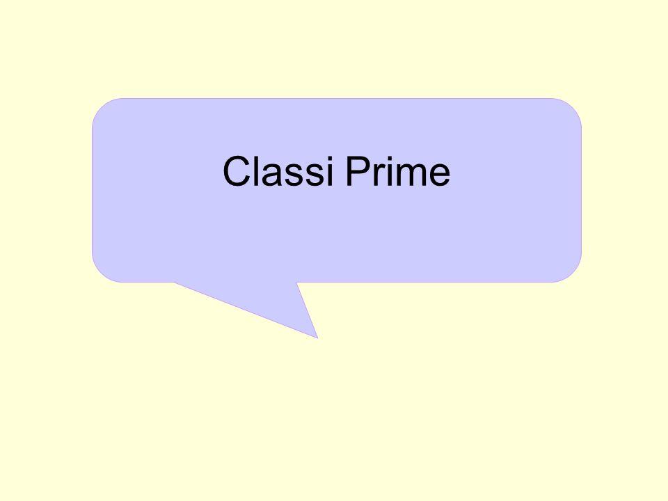 Classi Prime