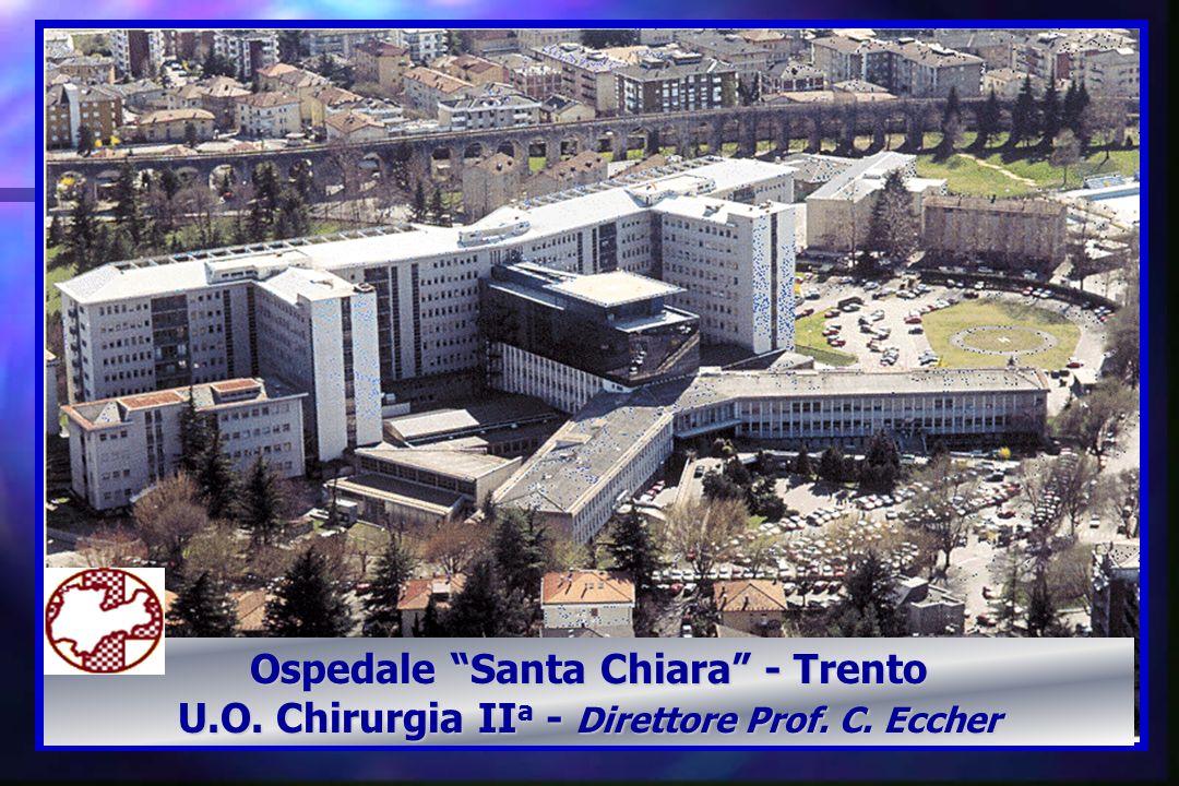 Ospedale Santa Chiara - Trento U.O. Chirurgia II a - Direttore Prof. C. Eccher
