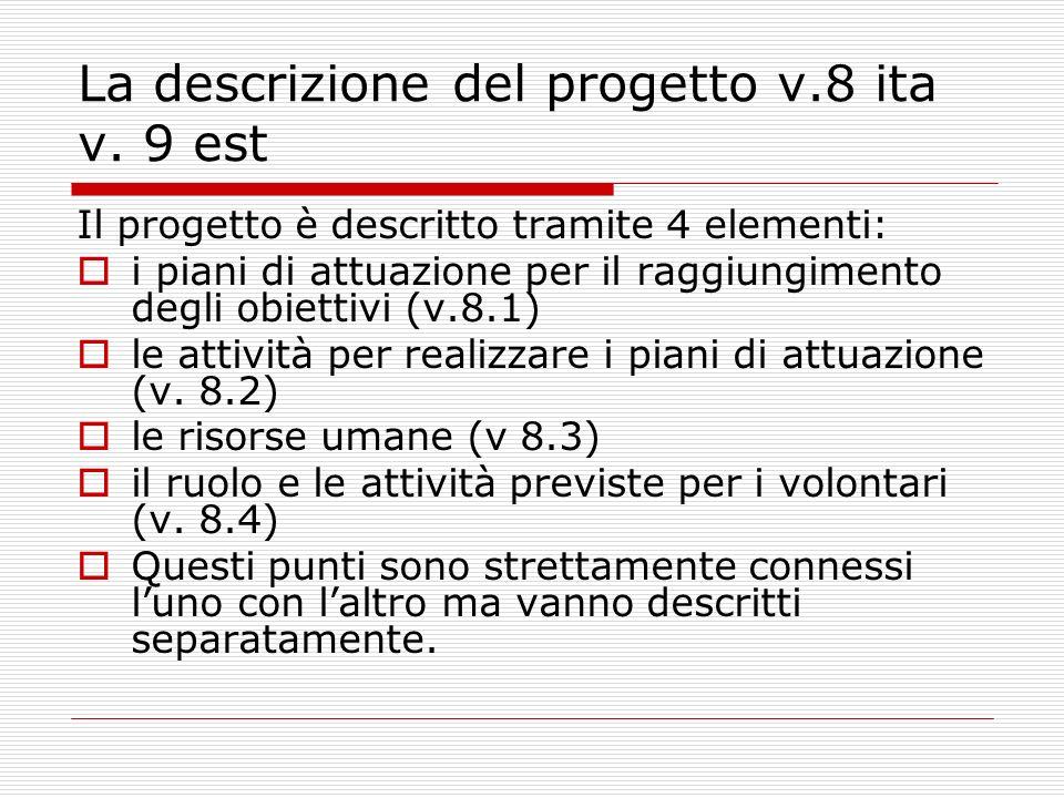 La descrizione del progetto v.8 ita v.