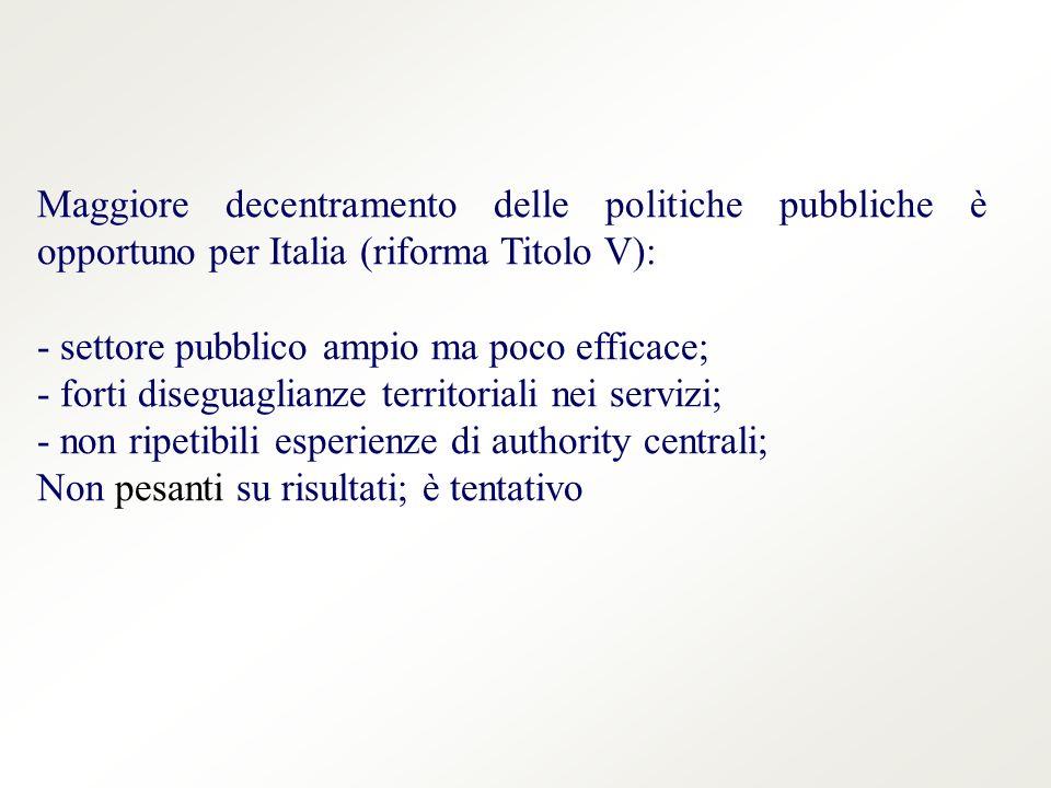 La Fondazione Agnelli si chiede: quanto è efficiente la spesa.
