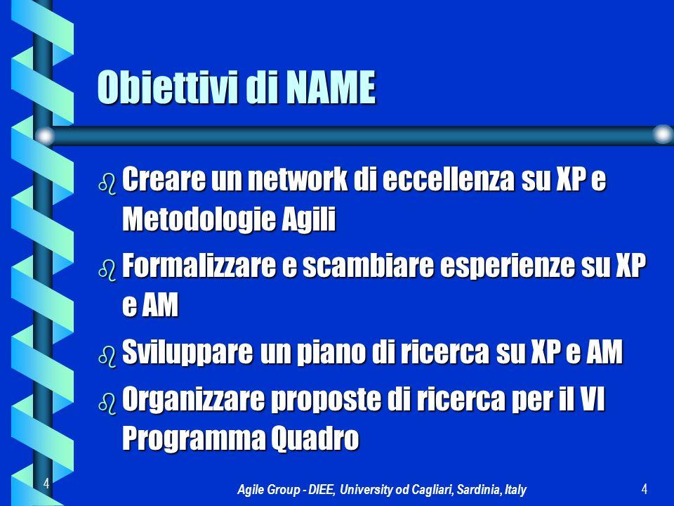 Agile Group - DIEE, University od Cagliari, Sardinia, Italy 5 5 La struttura stellare di NAME