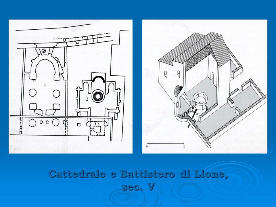 Cattedrale e Battistero di Lione, sec. V