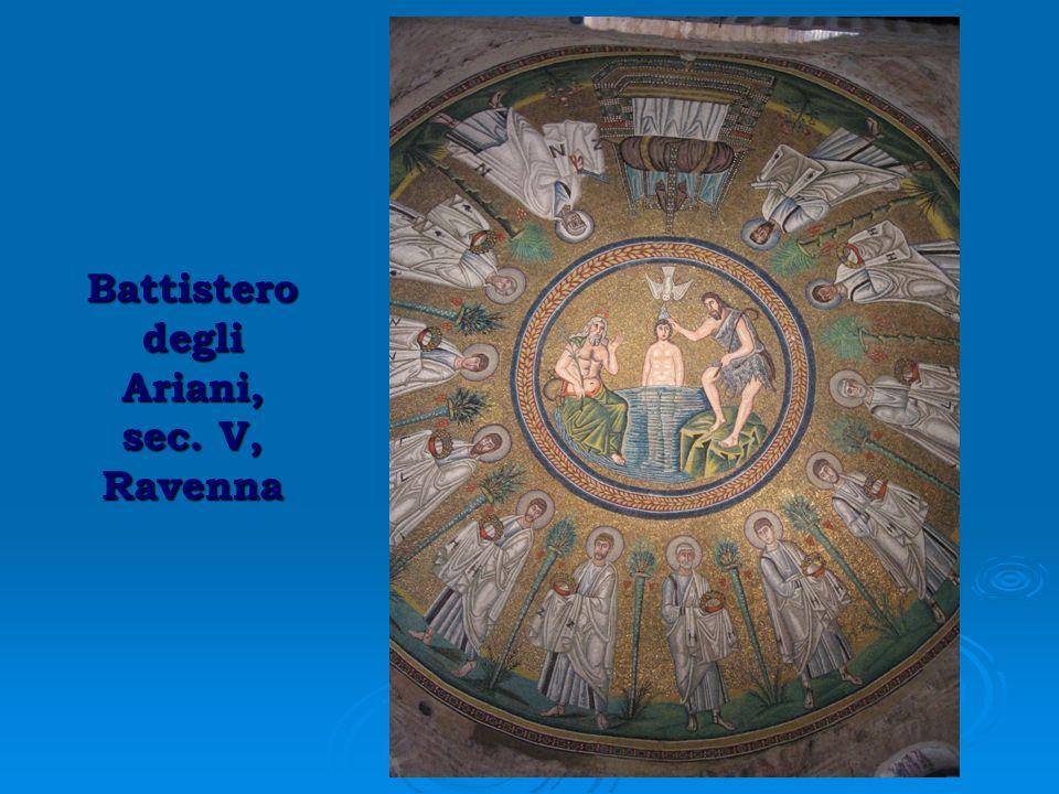 Battistero degli Ariani, sec. V, Ravenna