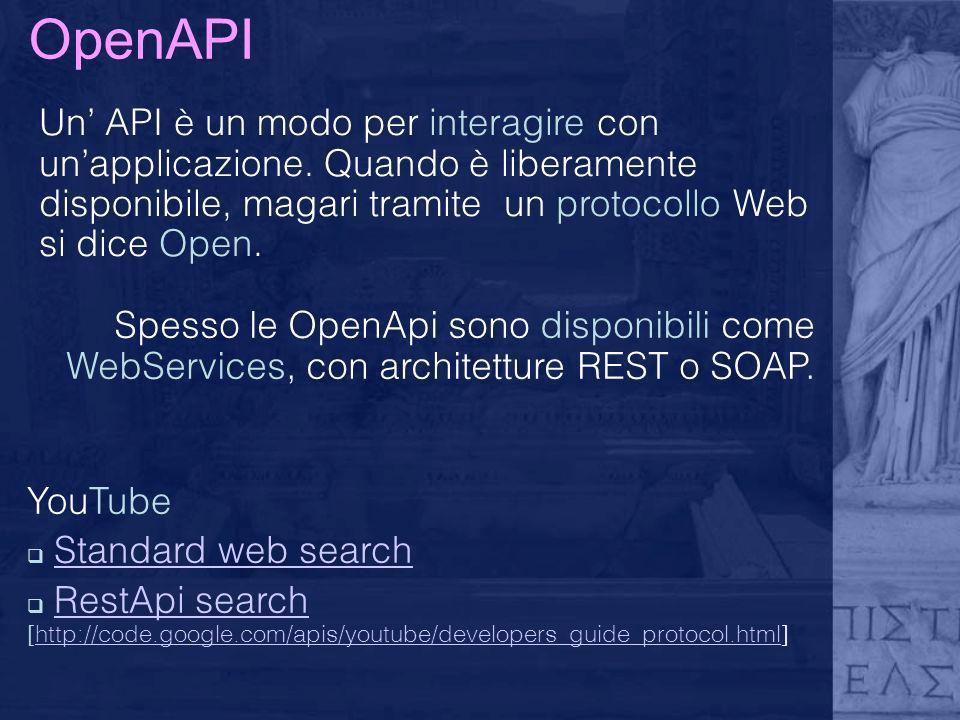 OpenAPI YouTube Standard web search RestApi search [http://code.google.com/apis/youtube/developers_guide_protocol.html]RestApi searchhttp://code.googl