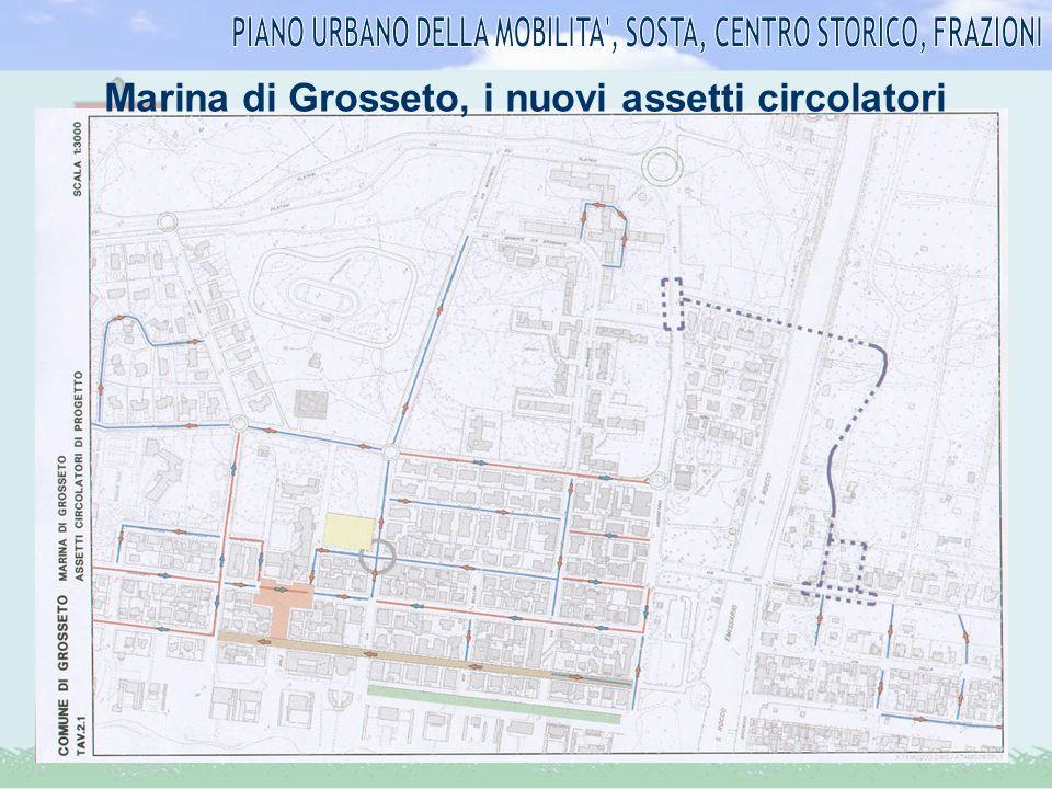 Marina di Grosseto, i nuovi assetti circolatori