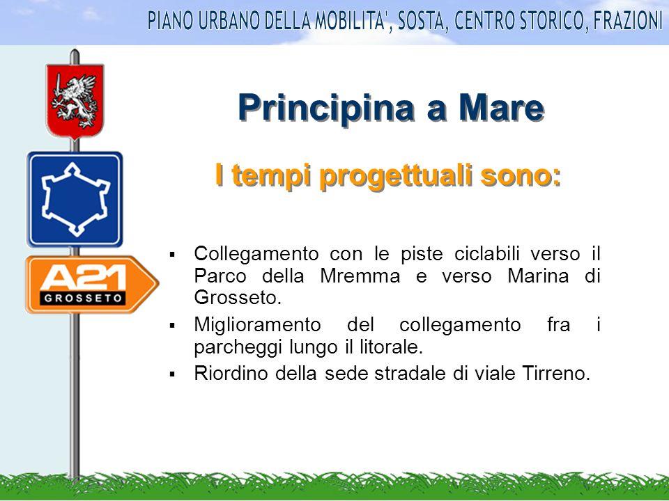 Principina a Mare Collegamento con le piste ciclabili verso il Parco della Mremma e verso Marina di Grosseto.