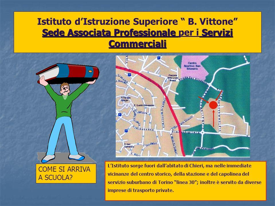 Sede Associata Professionale Servizi Commerciali Istituto dIstruzione Superiore B. Vittone Sede Associata Professionale per i Servizi Commerciali COME
