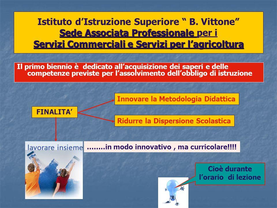 Sedi Associate Professionali QUARTO E QUINTO ANNO Istituto dIstruzione Superiore B.