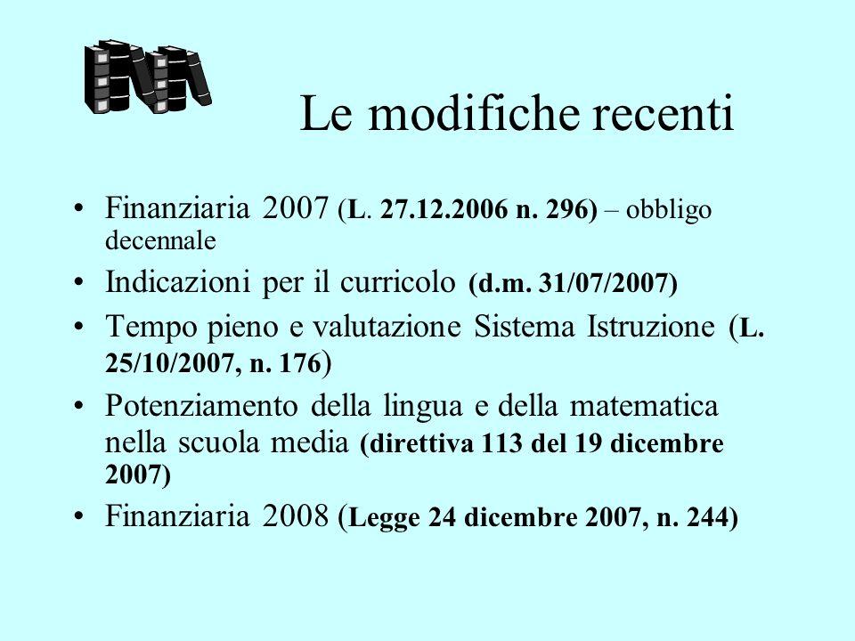 La riforma del primo ciclo Il D.lgs 19.02.2004, n.