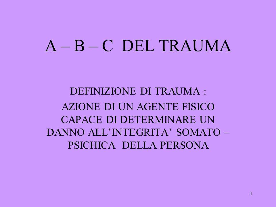 2 Perché parlare di trauma.
