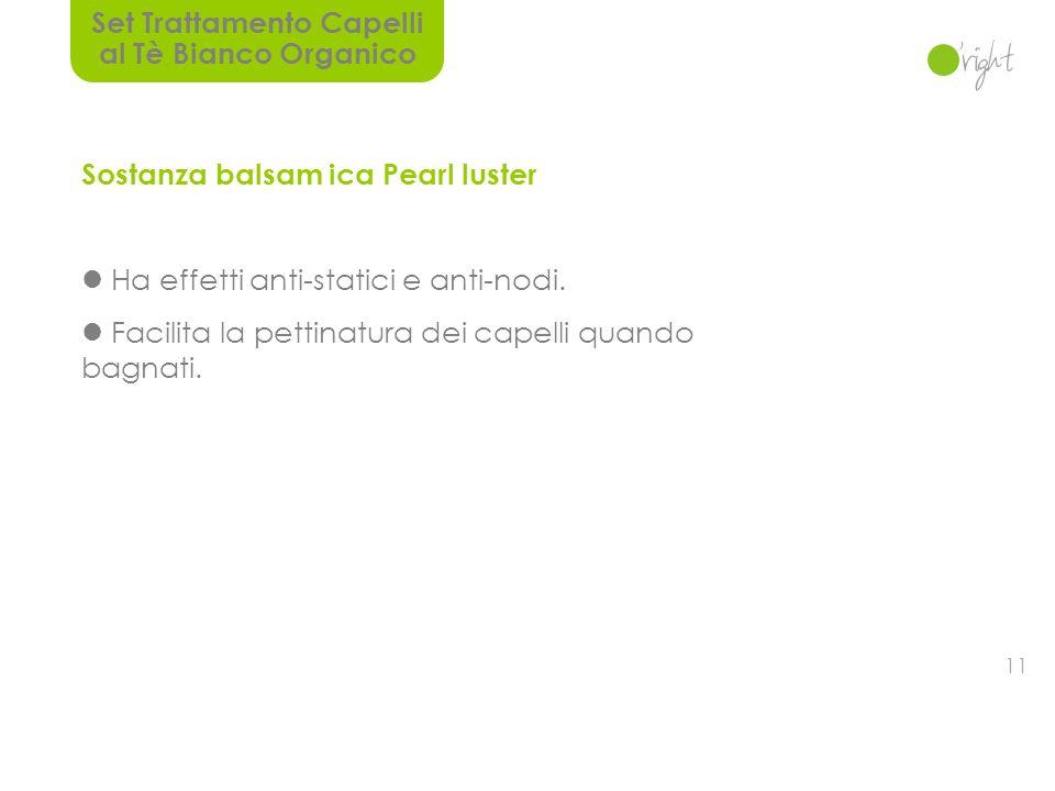 10 Estratto Organico al Tè Bianco Certificato da ECOCERT.