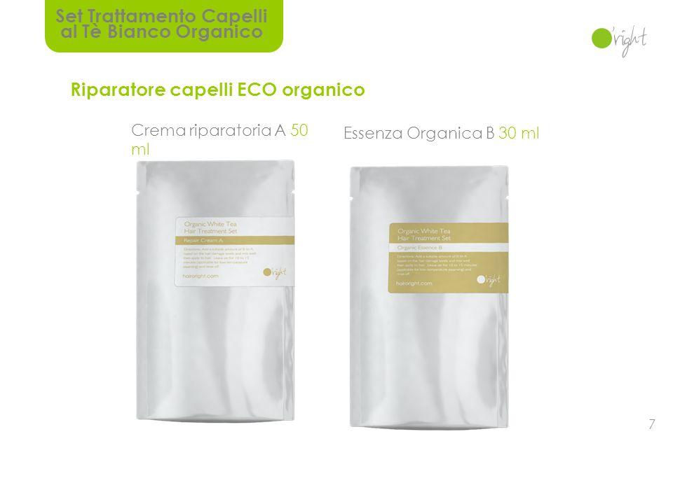 Set Trattamento Capelli al Tè Bianco Organico