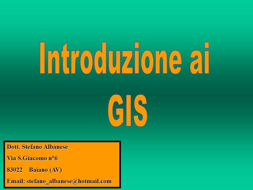 Dott. Stefano Albanese Via S.Giacomo n°6 83022 Baiano (AV) Email: stefano_albanese@hotmail.com