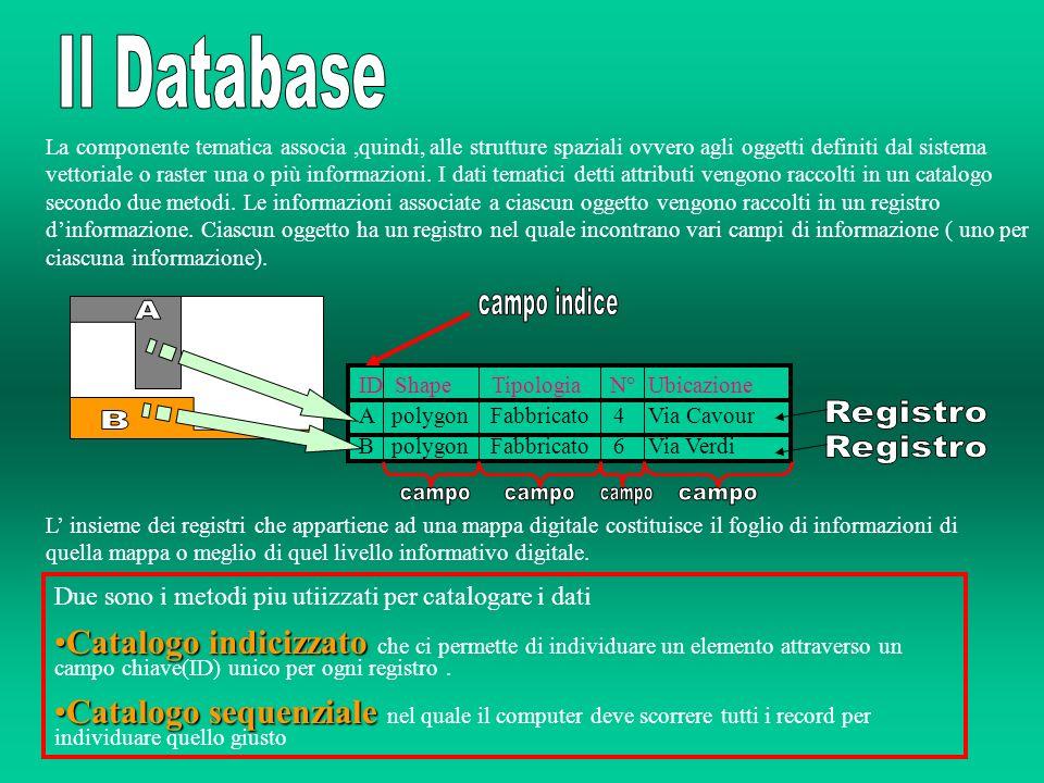 E una funzione in grado di creare un area di rispetto intorno agli elementi geografici che sono presenti nel database.