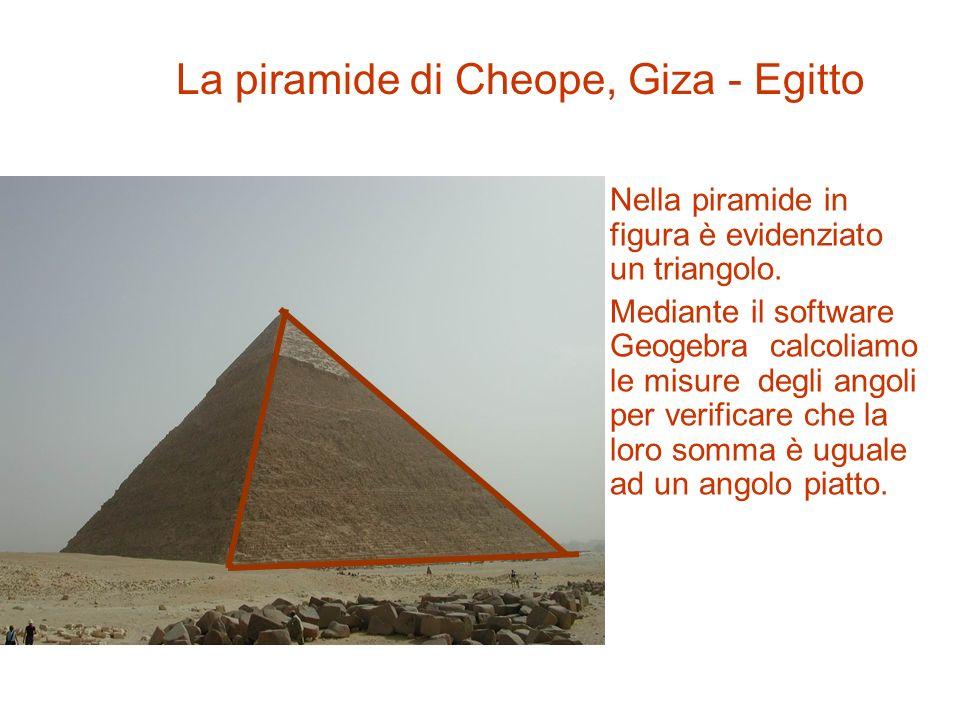 In questa immagine è evidenziato un triangolo. Il triangolo è un poligono con tre lati.. Il Partenone, Atene