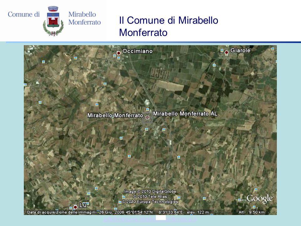 info@comune.mirabellomonferrato.al.it Il Comune di Mirabello Monferrato
