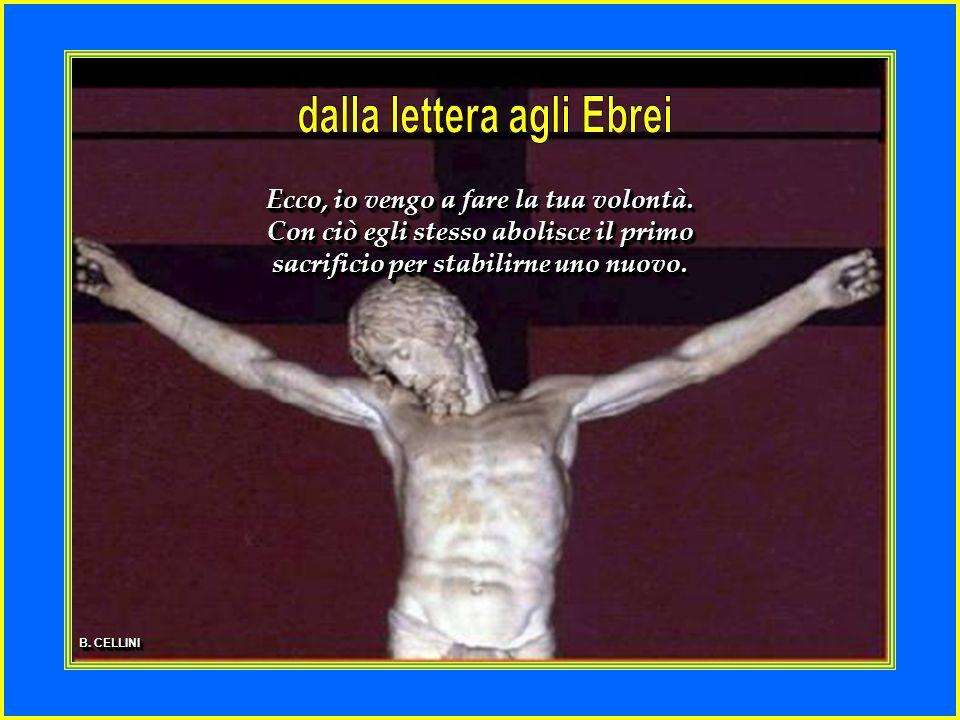 Allora Maria disse: Eccomi, sono la serva del Signore, avvenga di me quello che hai detto.