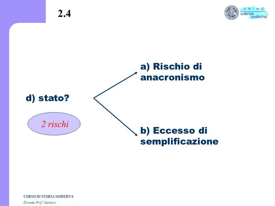CORSO DI STORIA MODERNA Docente Prof. Martucci C. altro? = a) stato b) strutture di governo re nascita e consolidamento dello Stato moderno (organi co