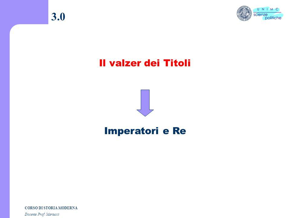Composizione grafica dott. Andrea Dezi CORSO DI STORIA MODERNA Docente Prof. Martucci Lezione n. 3 I SEMESTRE A.A. 2004-2005