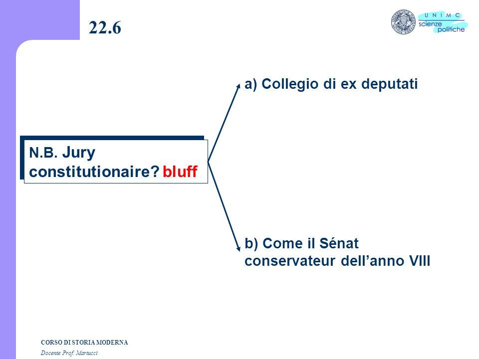 CORSO DI STORIA MODERNA Docente Prof. Martucci 22.5 D. Sieyès alla Convenzione (1792-95) b) Terrore Ho vissuto a) Processo al re la morte senza frasi