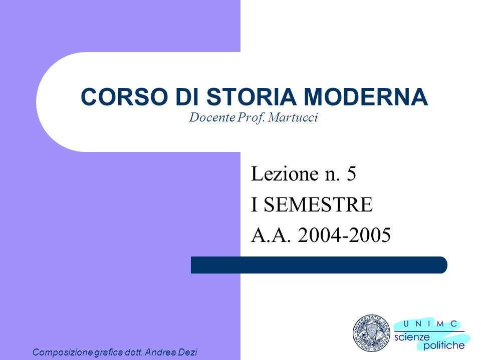 CORSO DI STORIA MODERNA Docente Prof. Martucci 4.5 D. Corona ereditaria 1) Stabilizza il meccanismo di successione N.B. diventa automatico 2) Capostip