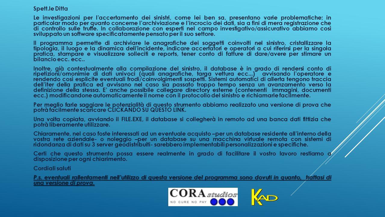 INSERIRE NOME COGNOME DATA E LUOGO DI NASCITA E COD.