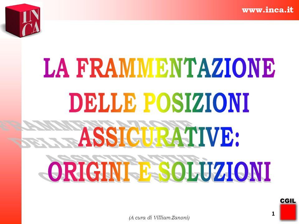 www.inca.it (A cura di Villiam Zanoni) 1