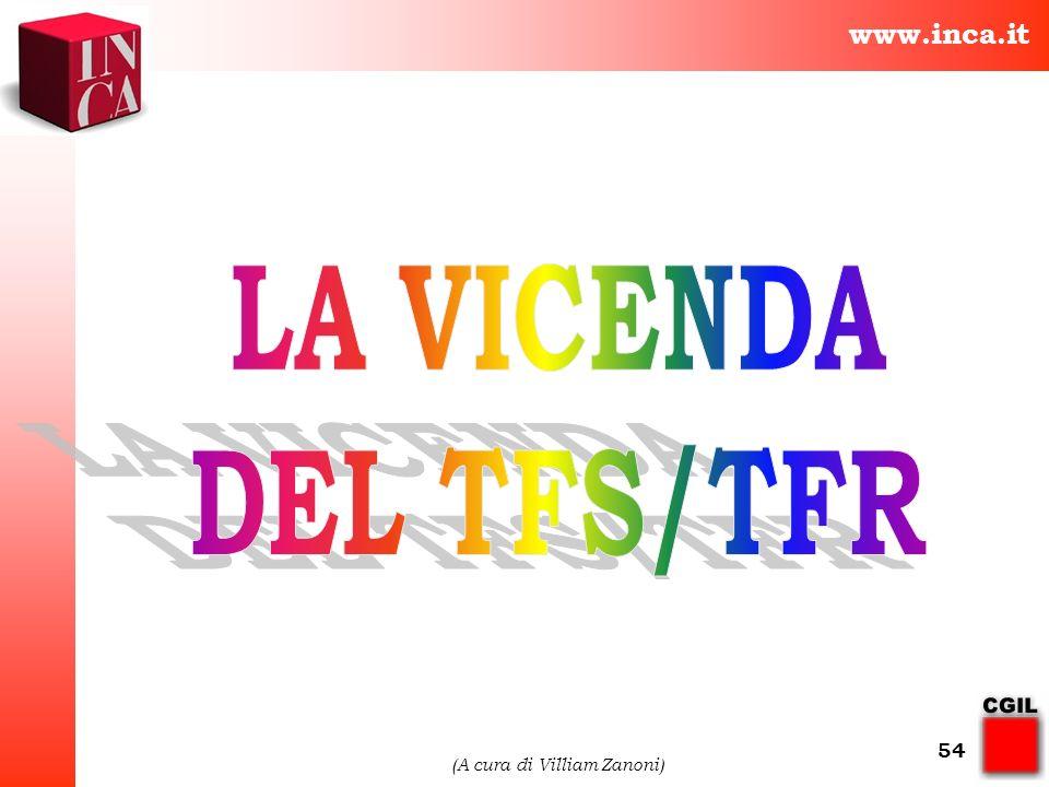 www.inca.it (A cura di Villiam Zanoni) 54
