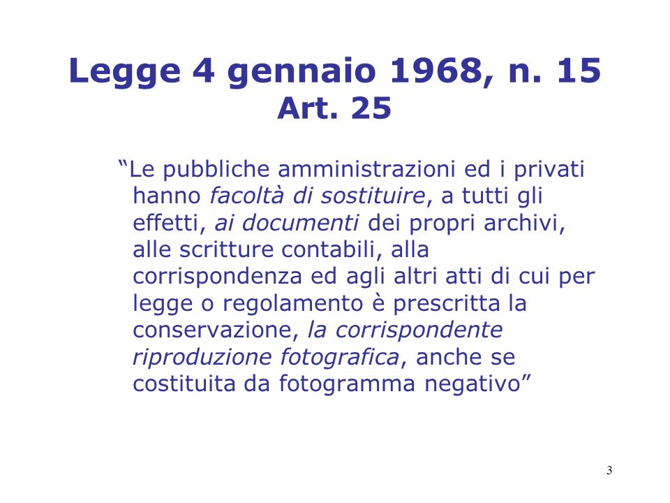 4 Legge 23 dicembre 1993, n.537 Art.