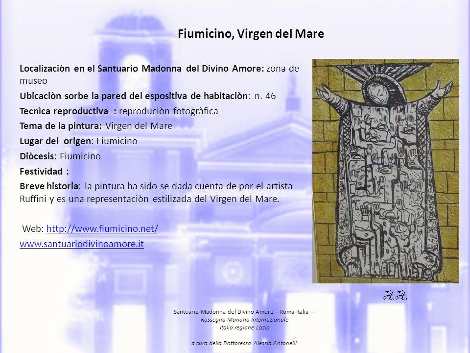 Gradoli, Madonna di San Vittore Ubicazione: sale espositive, Santuario Madonna del Divino Amore,Roma.