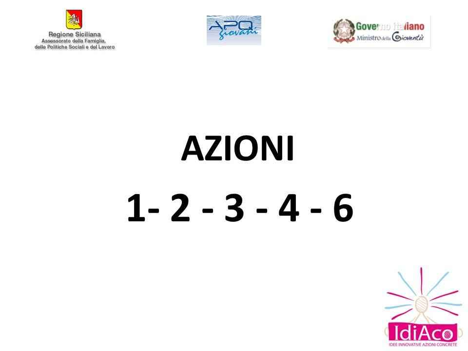 Azione 6 – Sostegno alle relazioni familiari intergenerazionali.