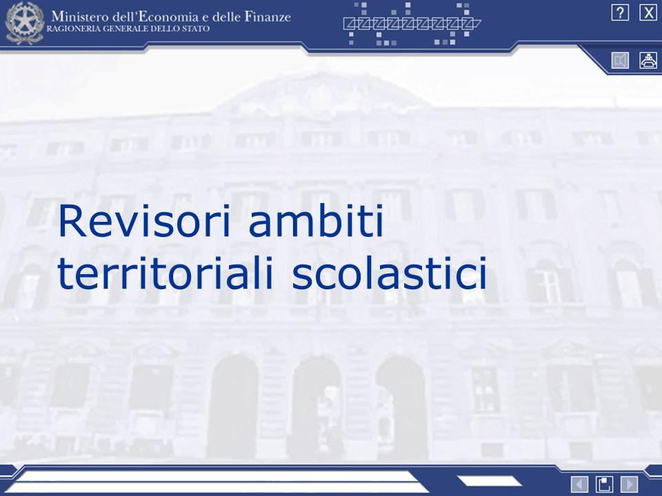 Revisori ambiti territoriali scolastici