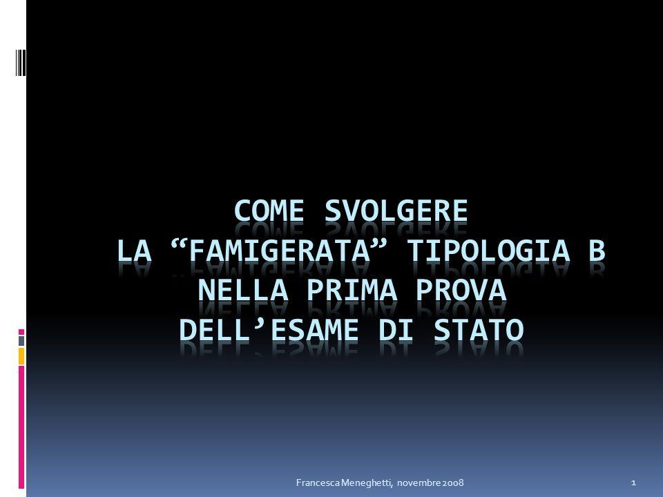 1 Francesca Meneghetti, novembre 2008