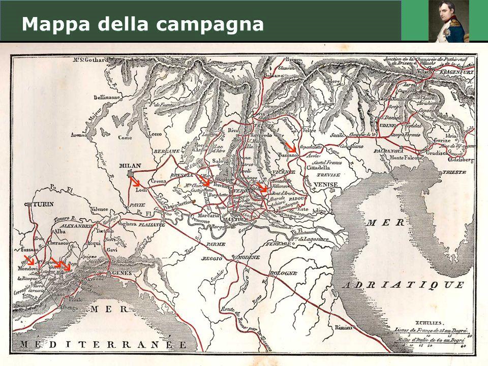 Mappa della campagna