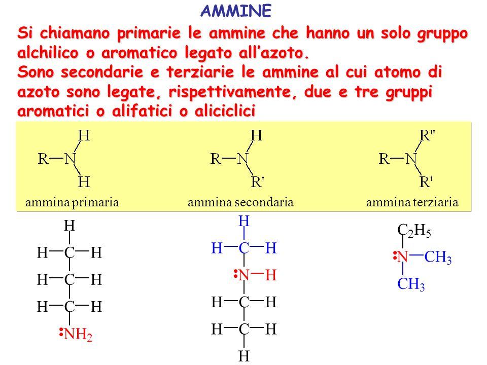 K b = 4,2 10 -10 K b = 5,5 10 -4 benzenammina cicloesanammina