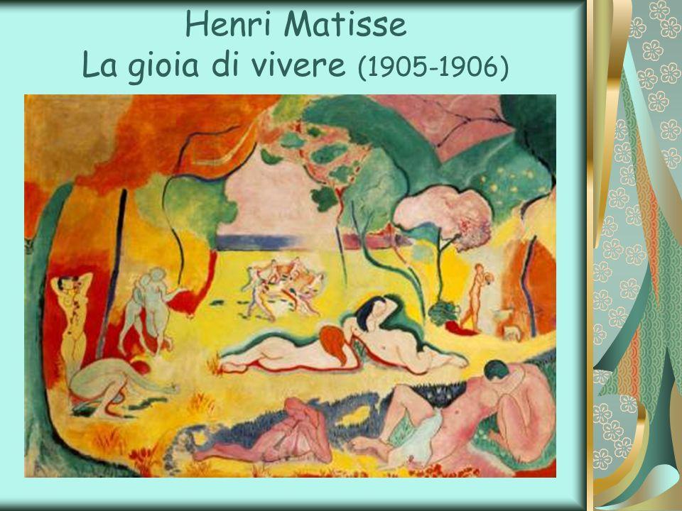 Henri Matisse La gioia di vivere (1905-1906)