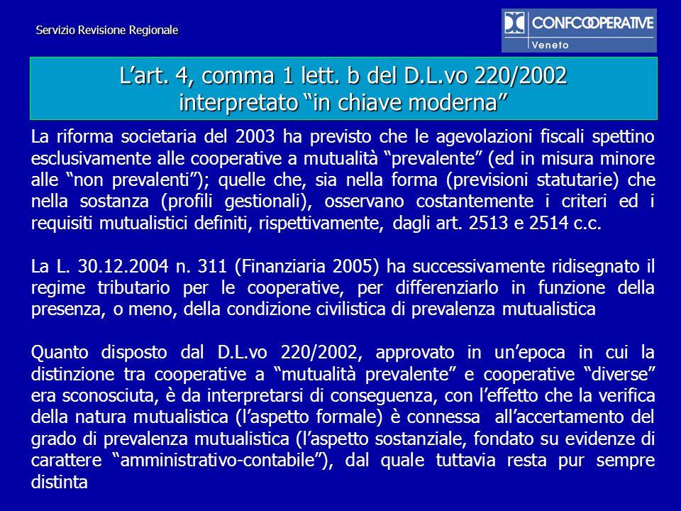 La riforma societaria del 2003 ha previsto che le agevolazioni fiscali spettino esclusivamente alle cooperative a mutualità prevalente (ed in misura m