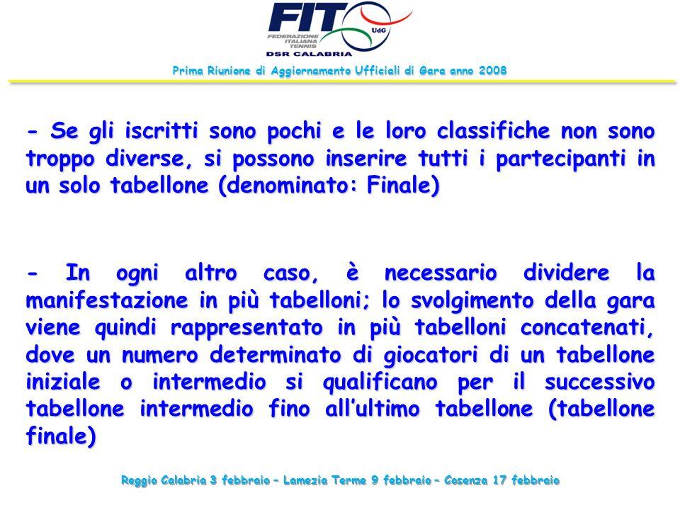 Reggio Calabria 3 febbraio – Lamezia Terme 9 febbraio – Cosenza 17 febbraio Prima Riunione di Aggiornamento Ufficiali di Gara anno 2008 - Se gli iscri